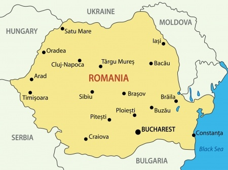 Requirements And Universities To Study In Romania Goldenchips - Where is romania on a map